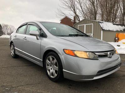 2008 Honda Civic LX (Alabaster Silver Metallic)