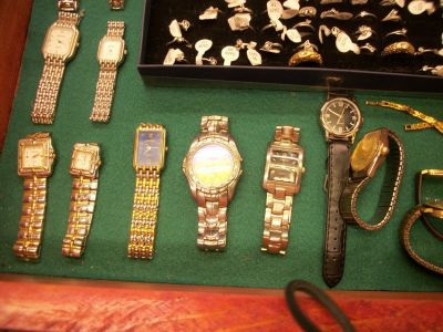 old and new watches