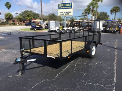 2018 Triple Crown 6X12 Utility with Mesh Sides Utility Trailers Fort Pierce, FL