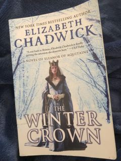 The Winter Crown, by NYTimes Bestselling Author Elizabeth Chadwick, GUC, former library copy, $5. Porch pick up only.
