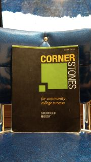 Cornerstones for Community College Success. Ave online price w/shipping is $34.00. Asking $22.00