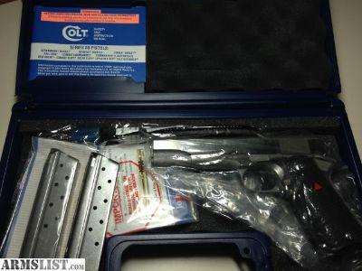 For Sale: Colt Series 80 Delta Elite 10mm