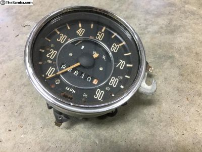 Speedometer from a 70 Bug, fits other years