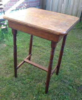 Antique wood table. Rustic chic. Can be refinished.