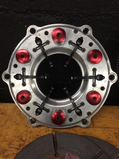 Billet Pro Drag Race Clutch Dual Disc 10""