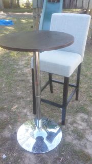 Bar table and stool $75 OBO