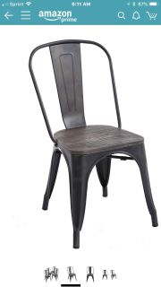 Dining room chair set (4)