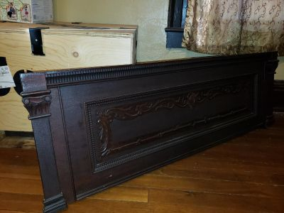 Front of old piano