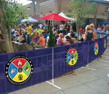 Custom Printed Fence Wrap