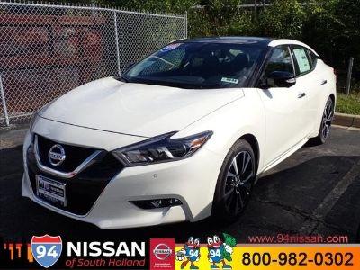 2018 Nissan Maxima (Pearl White)