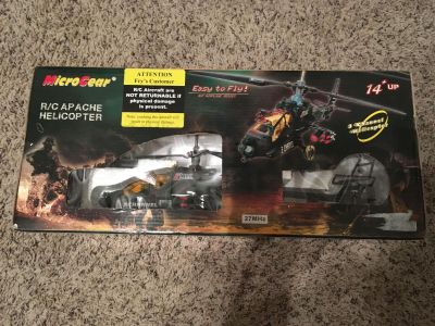 RC Apache Helicopter