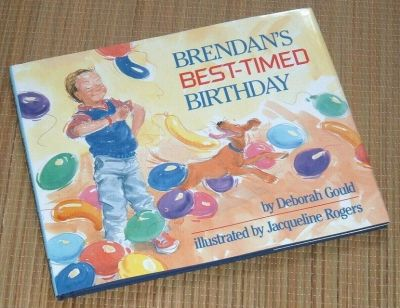 Vintage 1988 Brendans Best Timed Birthday Hard Cover Book w Dust Jacket Age Range 4 - 6