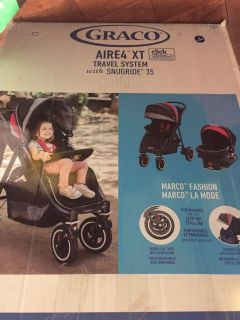 Graco aire 4 travel system brand new stroller and car seat combo $649 on amazon