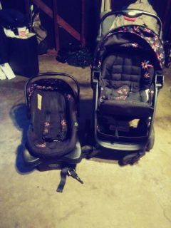 Baby car seat and stroller set