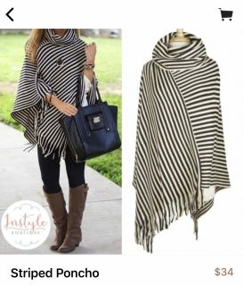 One size boutique poncho fcfs NO holds! Ppu off Clara Mathis or port royal if I know in advance