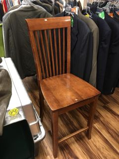 Wood bar stool - Marcus Pointe Thrift Store