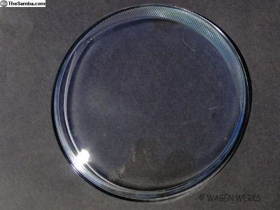 Bug Headlight Lens - Clear 1953 to 1966
