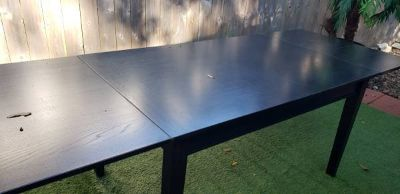 Crate & Barrel Extension Dining Table