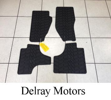 Sell BLACK RUBBER SLUSH FLOOR MATS 2011-2012 JEEP LIBERTY. BRAND NEW! motorcycle in Delray Beach, Florida, US, for US $69.36
