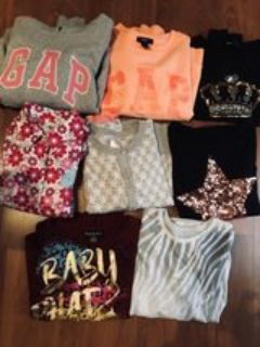 girls clothing lot size 7/8 36 pieces