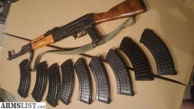 For Sale: Romanian Sar-1 Ak47