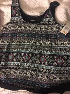 Small nwt tank top light weight