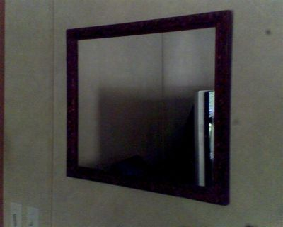 REDUCED AGAIN! Antique Bathroom Mirror