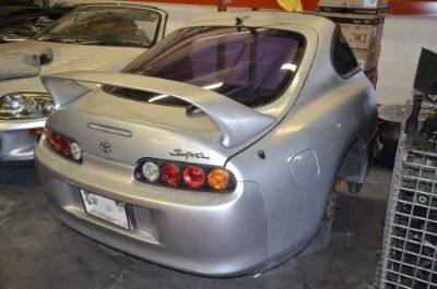 Sell Toyota Supra Targa Rear Clip Cut JDM OEM Quarter Panels Bumper JZA80 Sport Roof motorcycle in Fort Lauderdale, Florida, United States, for US $2,600.00