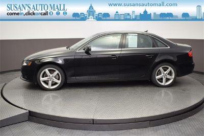 2011 Audi A4 2.0T quattro Premium Plus (black)