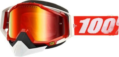 Purchase 100% Racecraft Snow Goggles Red w/Mirror Red Lens 50113-003-02 motorcycle in Lee's Summit, Missouri, United States, for US $74.95