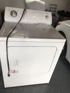 Kenmore washer and whirlpool gas dryer