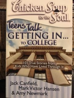 Getting into college chicken soup for the soul