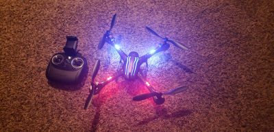 Hybrid stunt drone with live video
