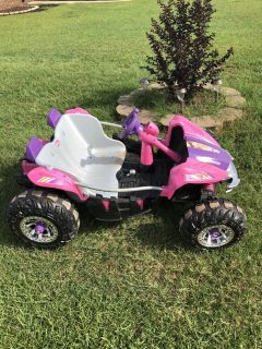 Barbie electric dune buggy