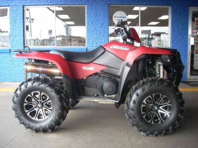 2013 Suzuki Motor of America Inc. KingQuad 500AXi Power Steering 30th Anniversary Edition Utility ATVs Little Rock, AR