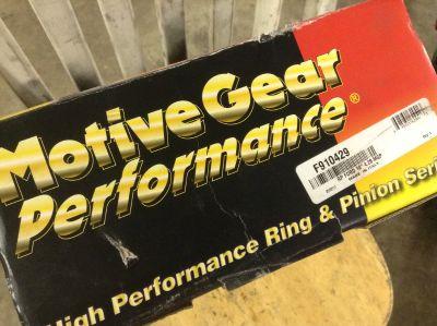 "Motive 10"" 4.30 gear set,new"