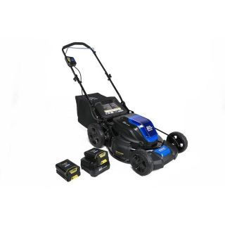 Kobalt 80-volt Brushless Lithium Ion 21-in Cordless Electric Lawn Mower (Batteries Included)