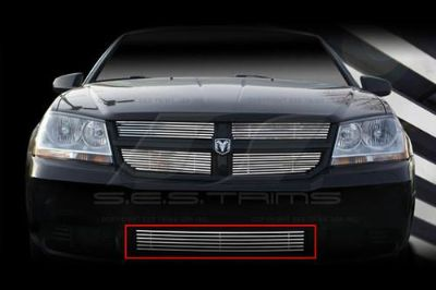 Purchase SES Trims TI-CG-167B 08-13 Dodge Avenger Billet Grille Bar Grill Chromed motorcycle in Bowie, Maryland, US, for US $99.00