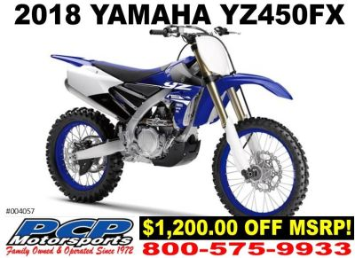 2018 Yamaha YZ450FX Competition/Off Road Motorcycles Sacramento, CA
