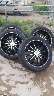 Velocity 22 inch set of four