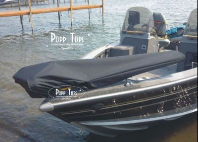 "Sell Minn Kota Trolling Motor Cover By PoppTops Fits PowerDrive w/60"" Shaft. BLACK motorcycle in Minnetonka, Minnesota, United States, for US $69.95"