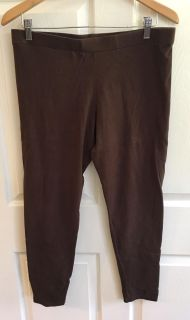 CATO Brown Leggings Size L