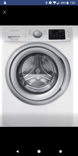 Samsung - 4.2 Cu. Ft. 9-Cycle High-Efficiency Steam Front-Loading Washer