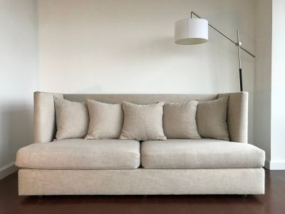 Classic modern Crate & Barrel couch