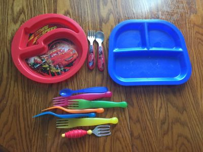 Toddler Plates/Silverware