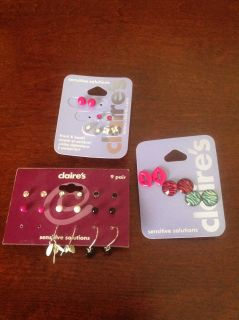 New Claire's Earrings for girls