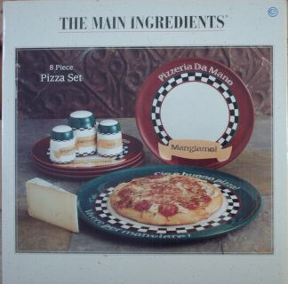 The Main Ingredients Pizza Party Set - New