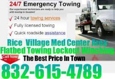 832-615-4789 Houston Flatbed Towing Lockout  Forklift Fast Cheap Motorcycles Tools Box Fm 1960