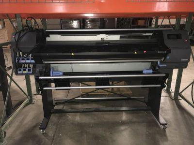 "2017 HP 110 Latex 54"" printer w/Graphtec Cutter RTR# 8071852-01"