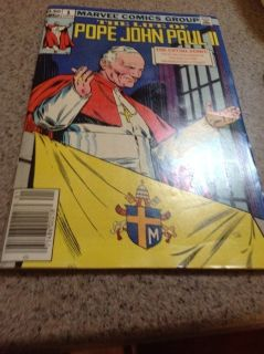 Pope John Paul II comic book, 1983 edition